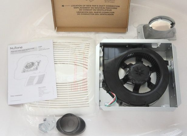 bathroom exhaust fan replacement kit