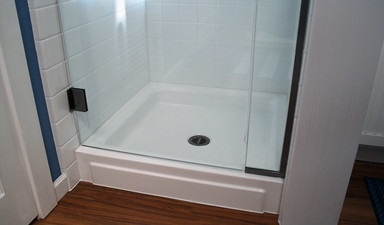 How To Install A Shower Base On A Wooden Floor
