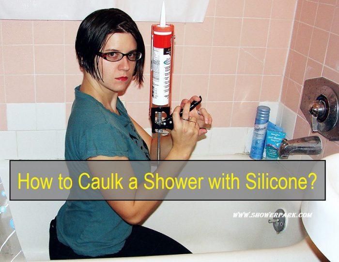 How to Caulk a Shower with Silicone