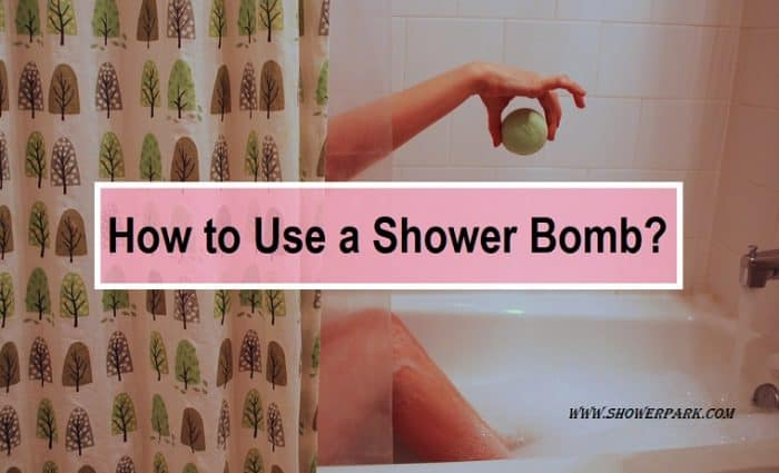 How to Use a Shower Bomb