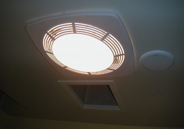 How to Clean Bathroom Exhaust Fan with Light