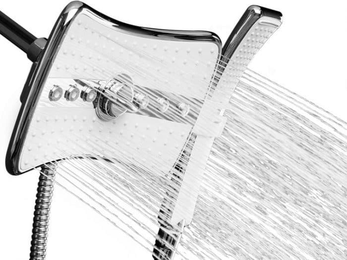 best dual shower head with handheld