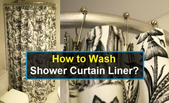 How To Wash Shower Curtain Liner Easy 2 Ways Shower Park