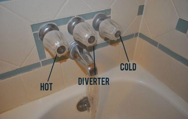 What is a Bathtub Spout Shower Diverter